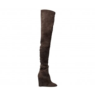 Wedge Over the Knee Boots