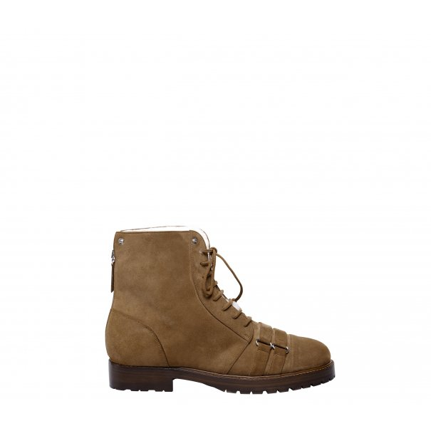 Lace Up Military Boots