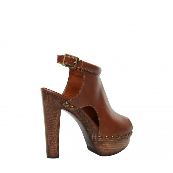 b8d04f2be80ca Leather High Heel Clogs