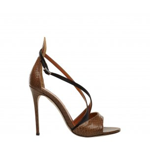 Criss Cross Heel Sandals