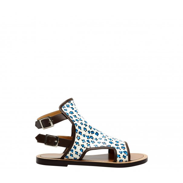Animal Buckle Sandals