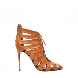 High Heel Lace-Up Shoes